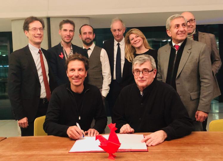 Aix-Marseille French Tech signe une convention de partenariat avec le MuCEM