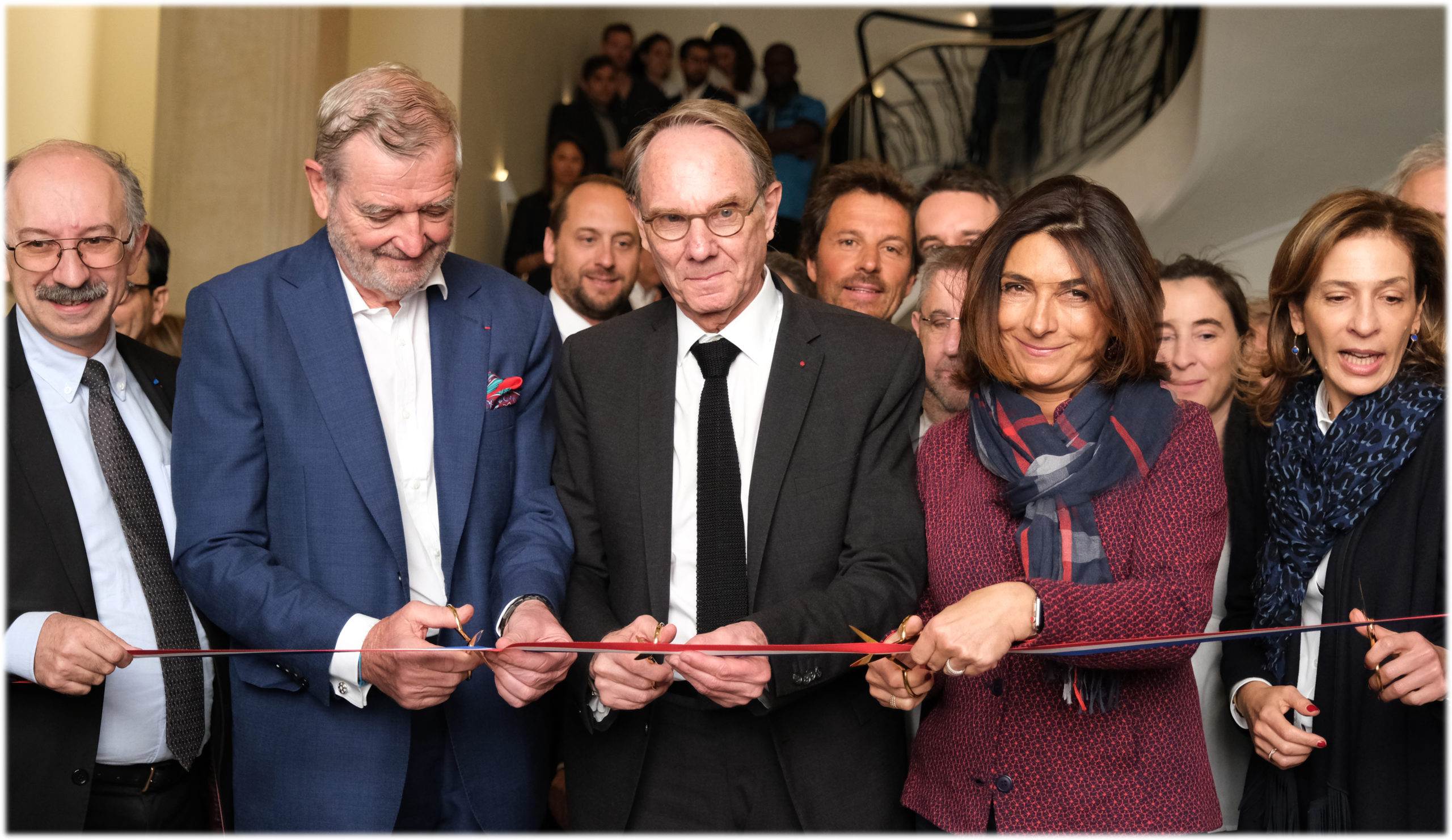 Official Opening of the CISAM, a French Tech iconic building