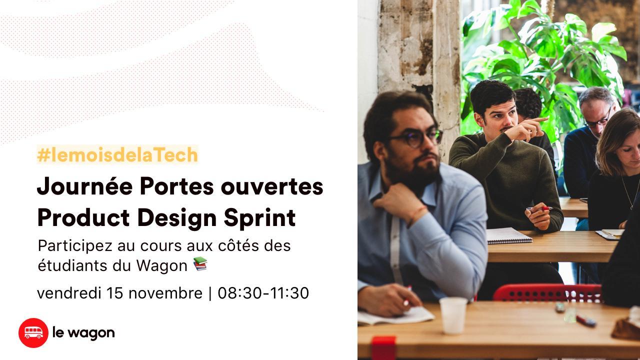 Journée Portes Ouvertes Product Design Sprint