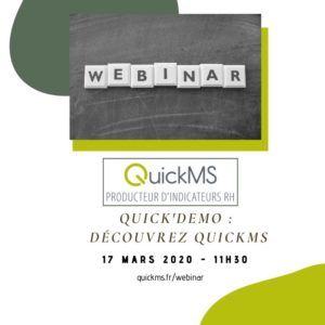 QuickDemo : Découvrez QuickMS producteur d'indicateurs RH @ QuickMS