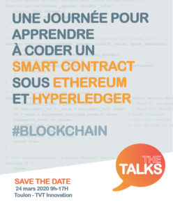 Workshop coder son smart contract sur Hyperledger & Ethereum @ TVT Innovation - Toulon @ place Pompidou
