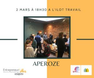 Apéroze Entrepreneurielles à Marignane @ L'îlot Travail