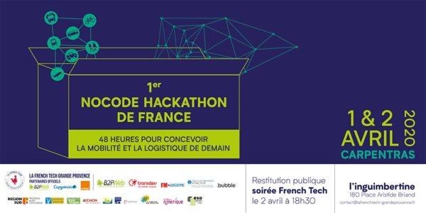 Nocode hackathon : 48h pour concevoir la mobilité et logistique de demain.