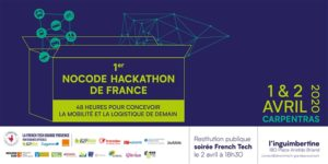Nocode hackathon : 48h pour concevoir la mobilité et logistique de demain. @ Carpentras (Inguimbertine)