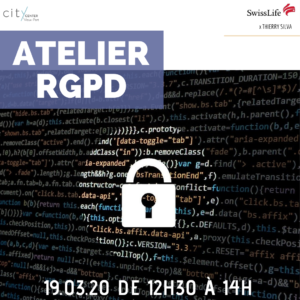 ATELIER RGPD @ City Center Vieux Port
