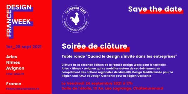 Soirée de Clôture – France Design Week