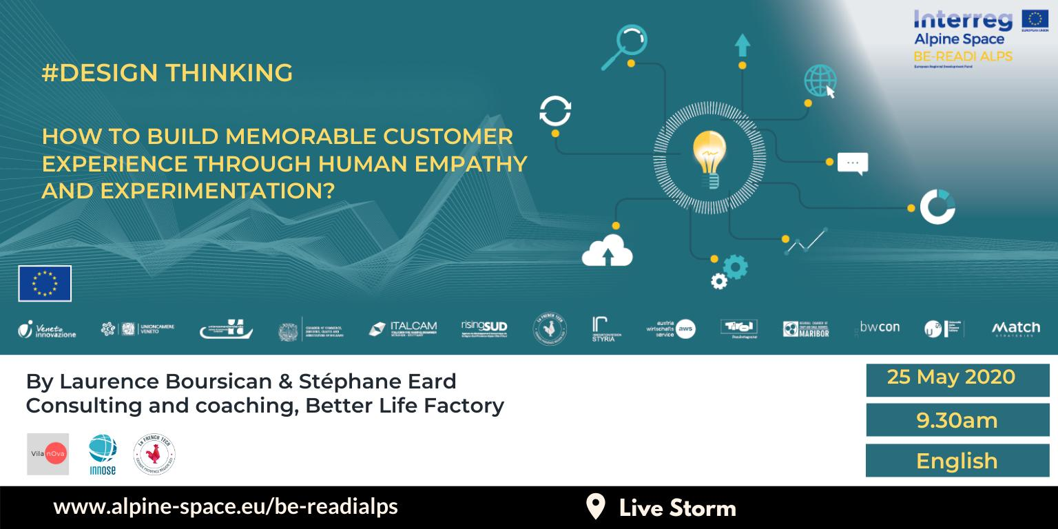 How to build memorable customer experience through human empathy and experimentation?