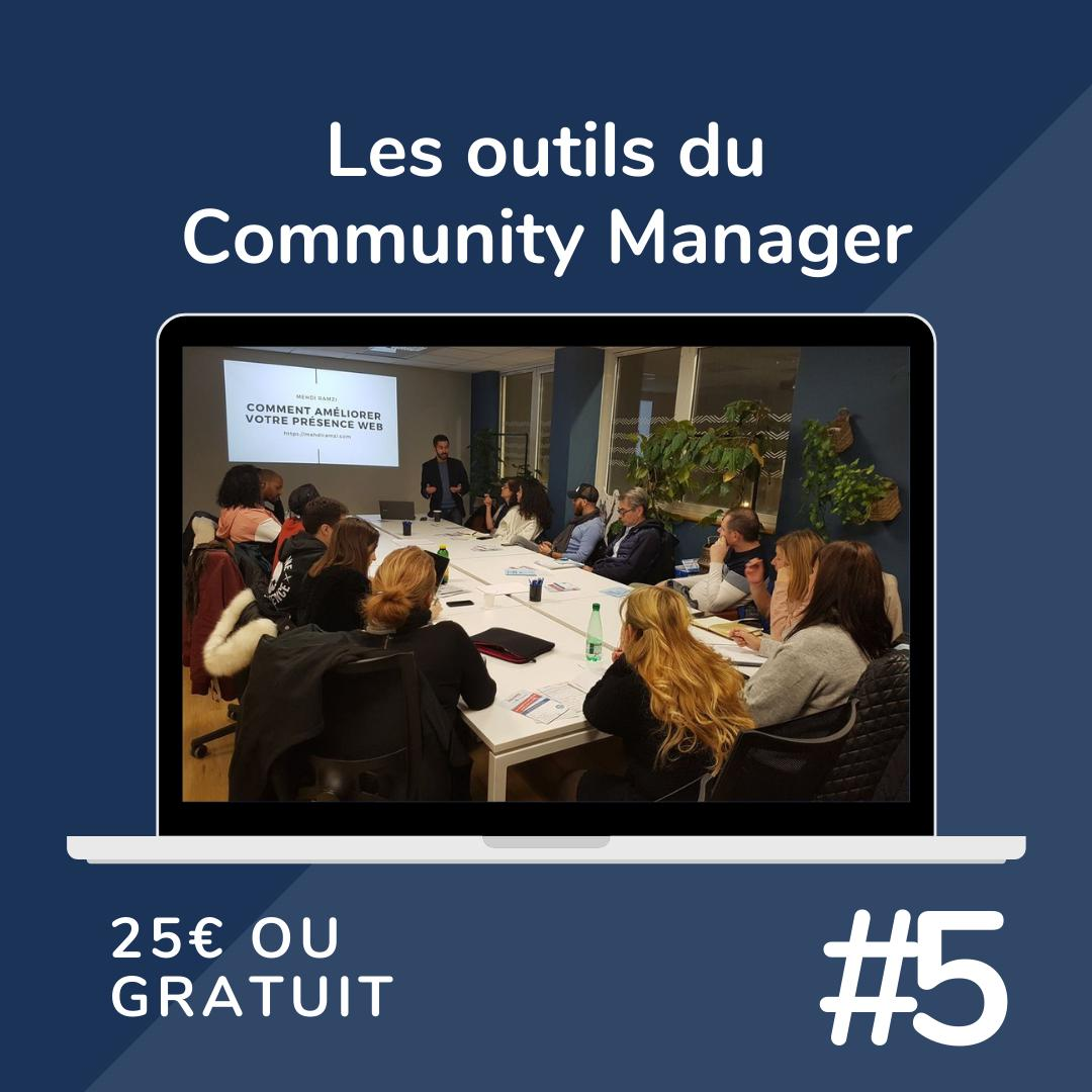 LES OUTILS DU COMMUNITY MANAGER
