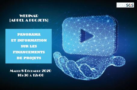 Panorama et information sur les financements de projets