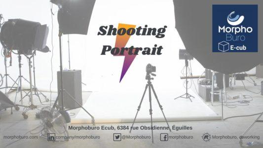 Séance de shooting portrait pro