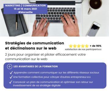 Stratégies de communication et déclinaison sur le web