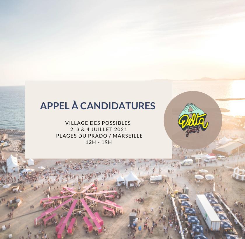 Appel à candidature – Village des Possibles – Delta Festival