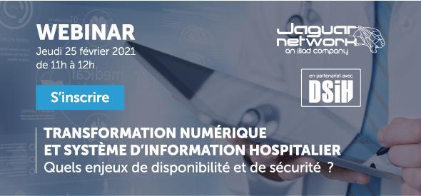 Save the date : webinar avec DSIH.fr et Docaposte le 25 février à 11h.