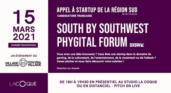 [SXSW AUSTIN 15-16/03] Appel à Candidature Startup ICC