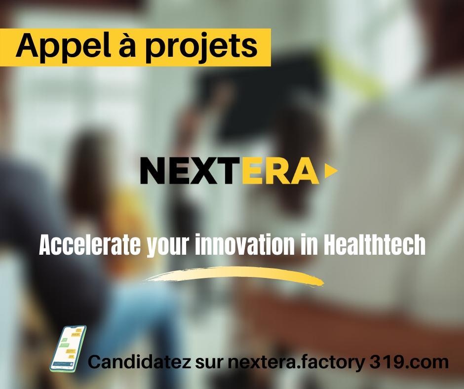 NEXTERA, un programme dédié aux startups en santé numérique