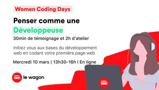 WOMEN CODING DAYS – Penser comme une développeuse web