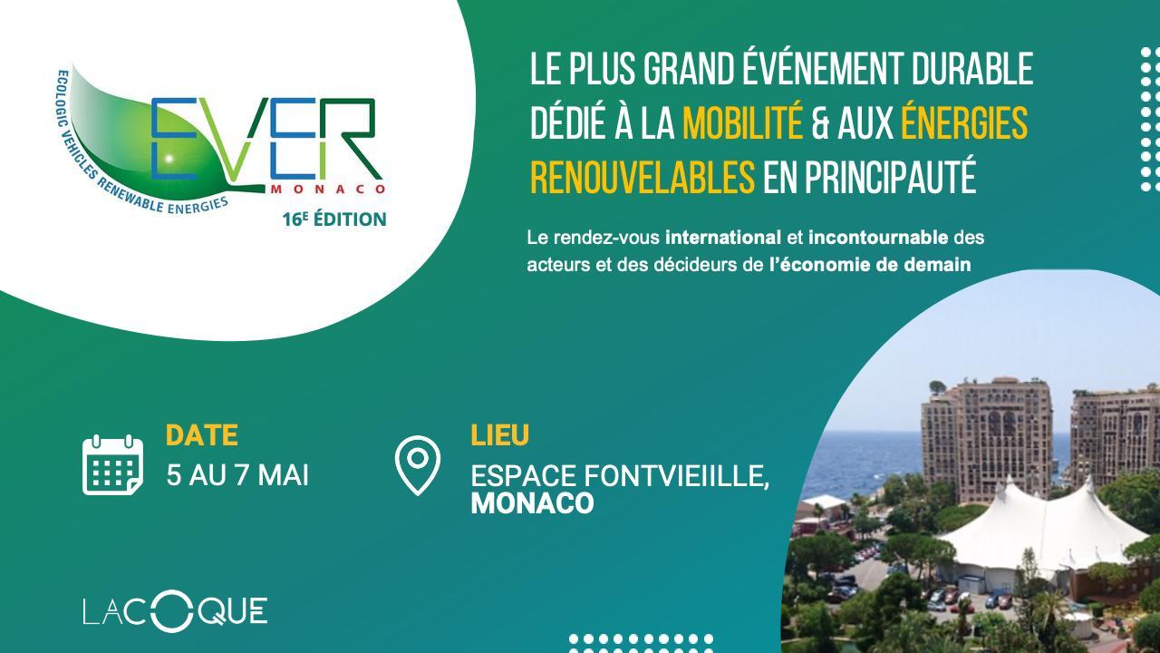 Salon Ever Monaco – Appel à Candidature Startups pour stand mutualisé LA COQUE