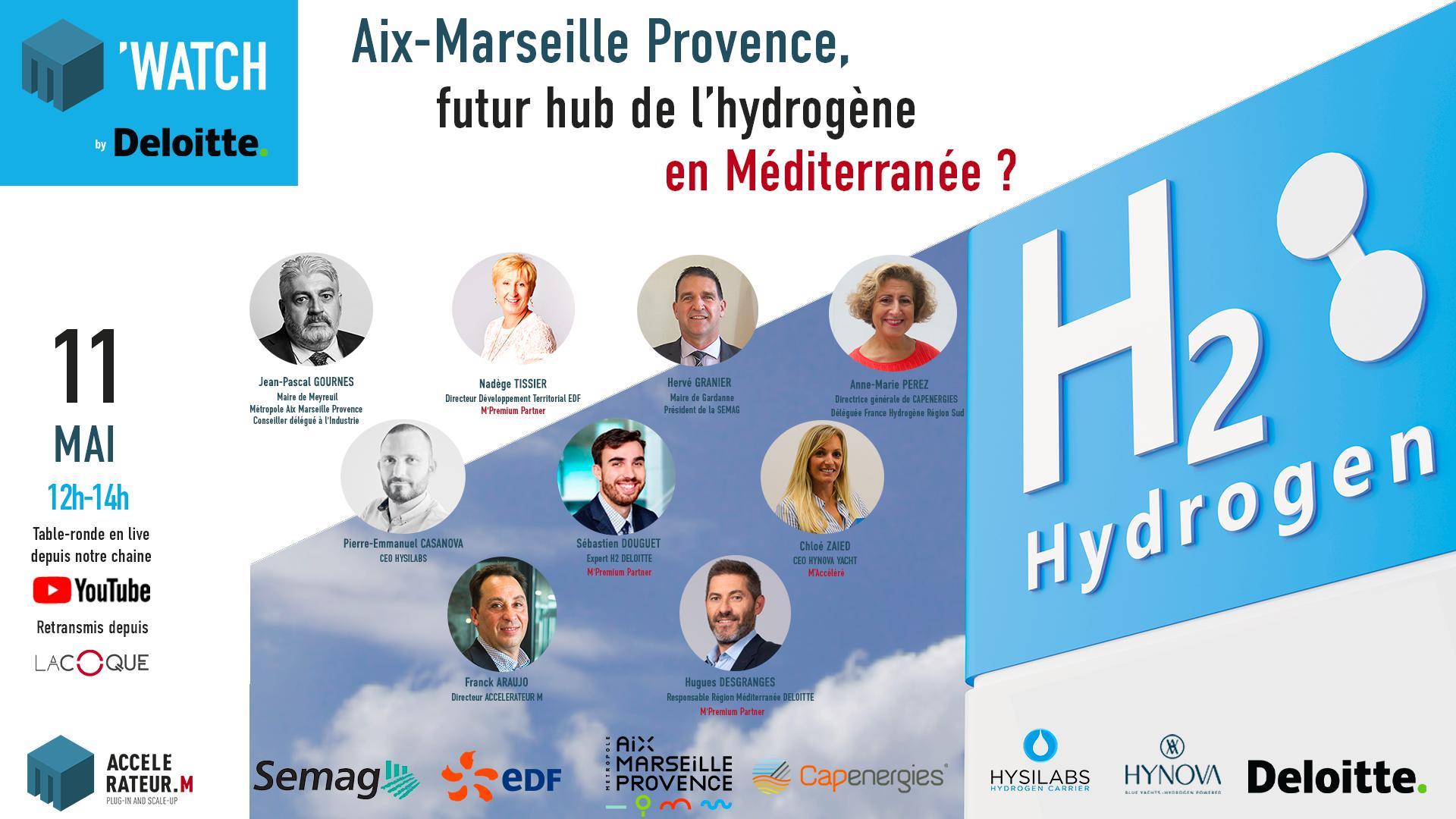 M' Watch : Aix-Marseille futur hub de l'hydrogène en Méditerranée ?