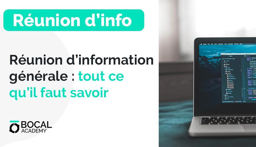 Bocal Academy –  Réunion d'info au Bocal Marseille