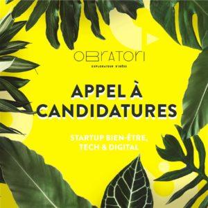 Appel à candidatures – OBRATORI