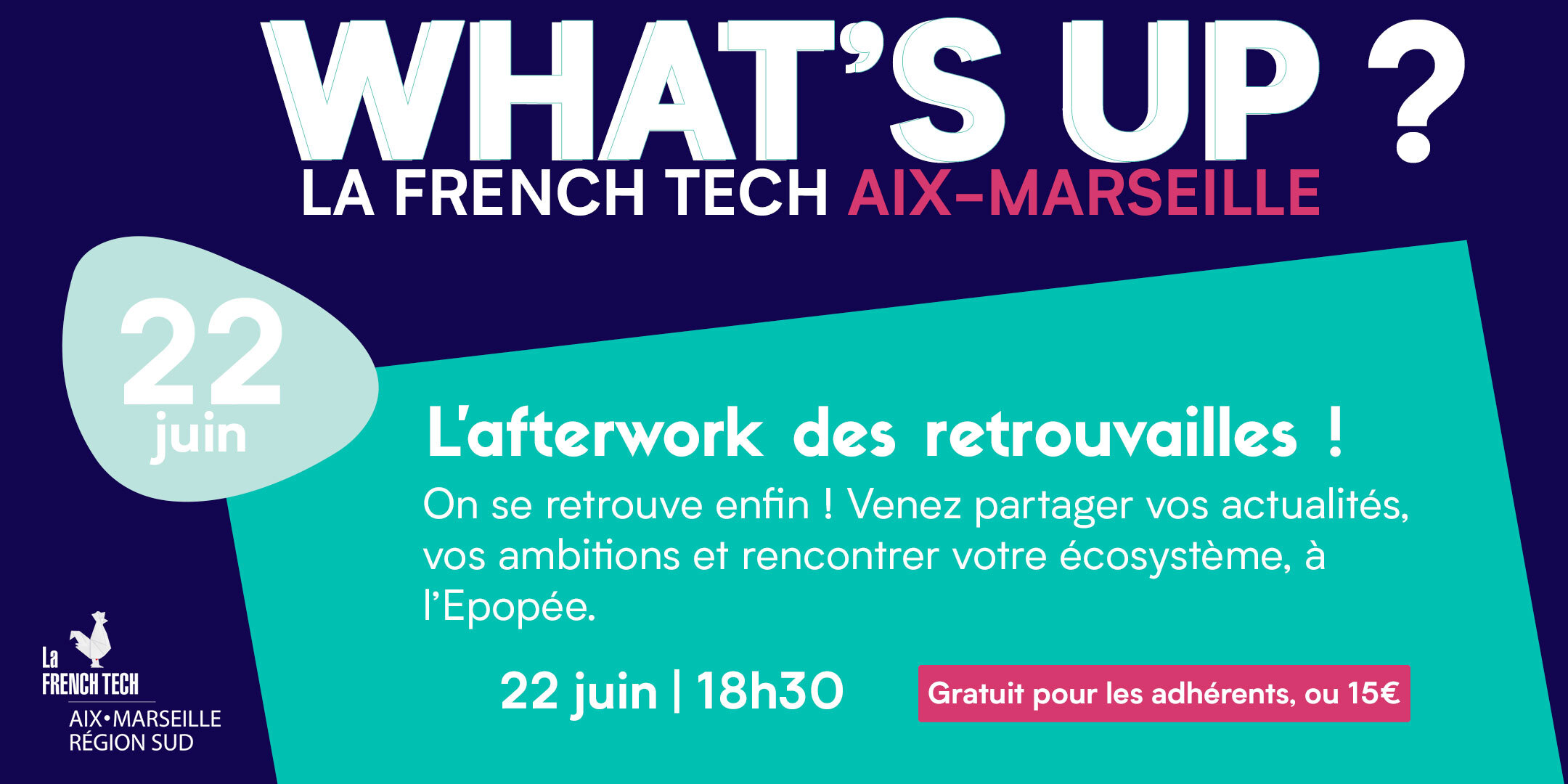 Afterwork French Tech Aix-Marseille
