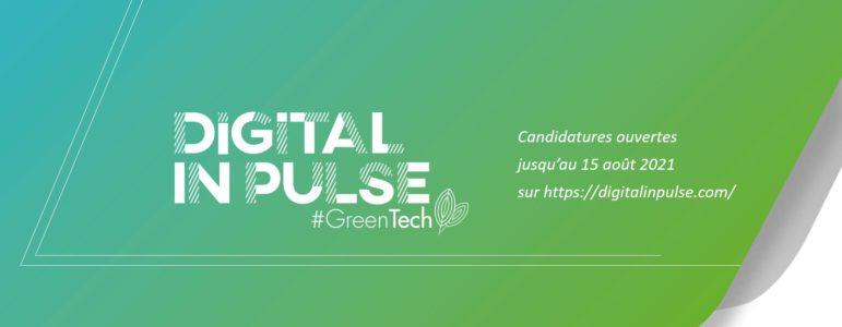 APPEL A PROJETS: DIGITAL INPULSE #GREENTECH
